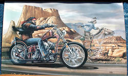 PhotoPost Classifieds - David Mann Ghost Rider poster ...