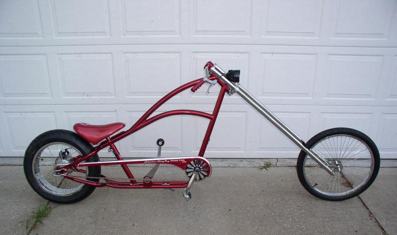 Custom Chopper Bicycle In The Works Club Chopper Forums