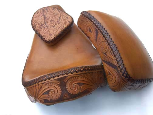 Custom Hand Tooled Leather Chopper Seats 504 x 378 · 37 kB · jpeg