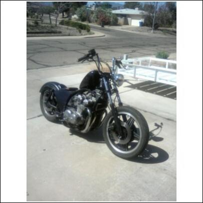 My Wife S 80 Cb750 Club Chopper Forums