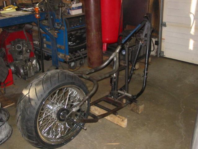 "new ""drop seat"" xs650 weld on hard tail on ebay - Club ..."