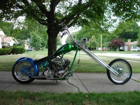 Looking at building my 70's style dream chopper - Club