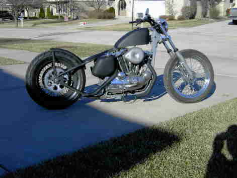 Hardtail Sportster http://www.clubchopper.com/forums/old-school-chopper-talk/17259-78-hardtail-sportster.html