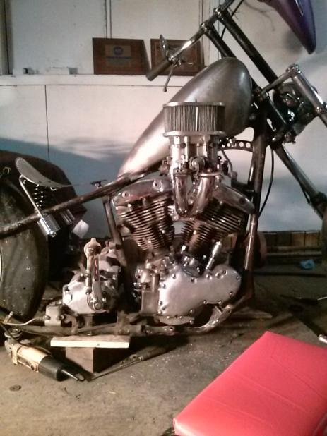 1966 Shovelhead Chopper Resurection - Club Chopper Forums