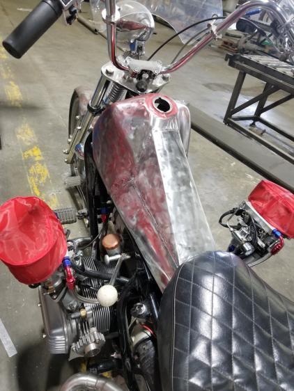 Chopper Styled Hot Rod Trike
