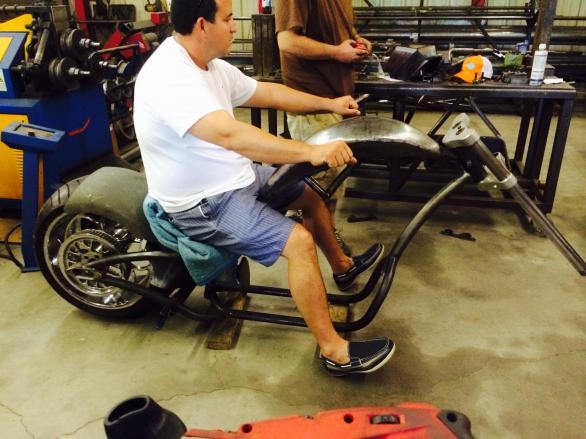 Redneck engineering mutant curves build - Club Chopper Forums