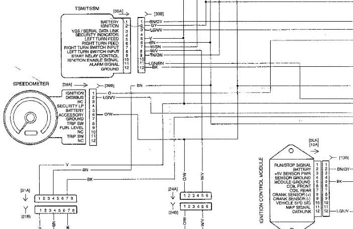diagram sportster electric sending unit for speedo wiring diagram