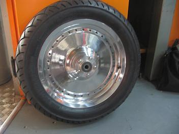 polishing fatboy wheels club chopper forums