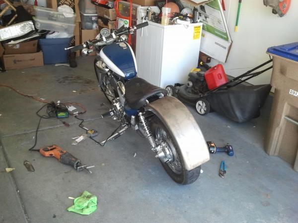 My Bobber build - Club Chopper Forums