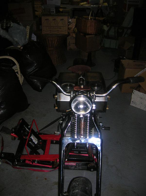 xl flat tracker progress club chopper forums