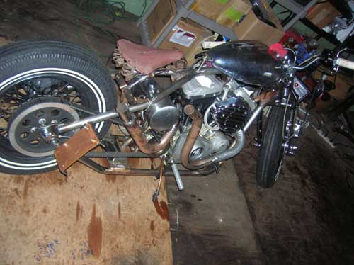 made my 1st set of pipes today club chopper forums