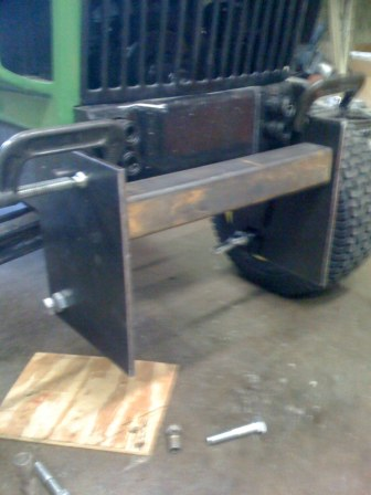 Homemade Garden Tractor Implements http://www.tractorbynet.com/forums/build-yourself/132337-homemade-garden-tractor-scoop.html