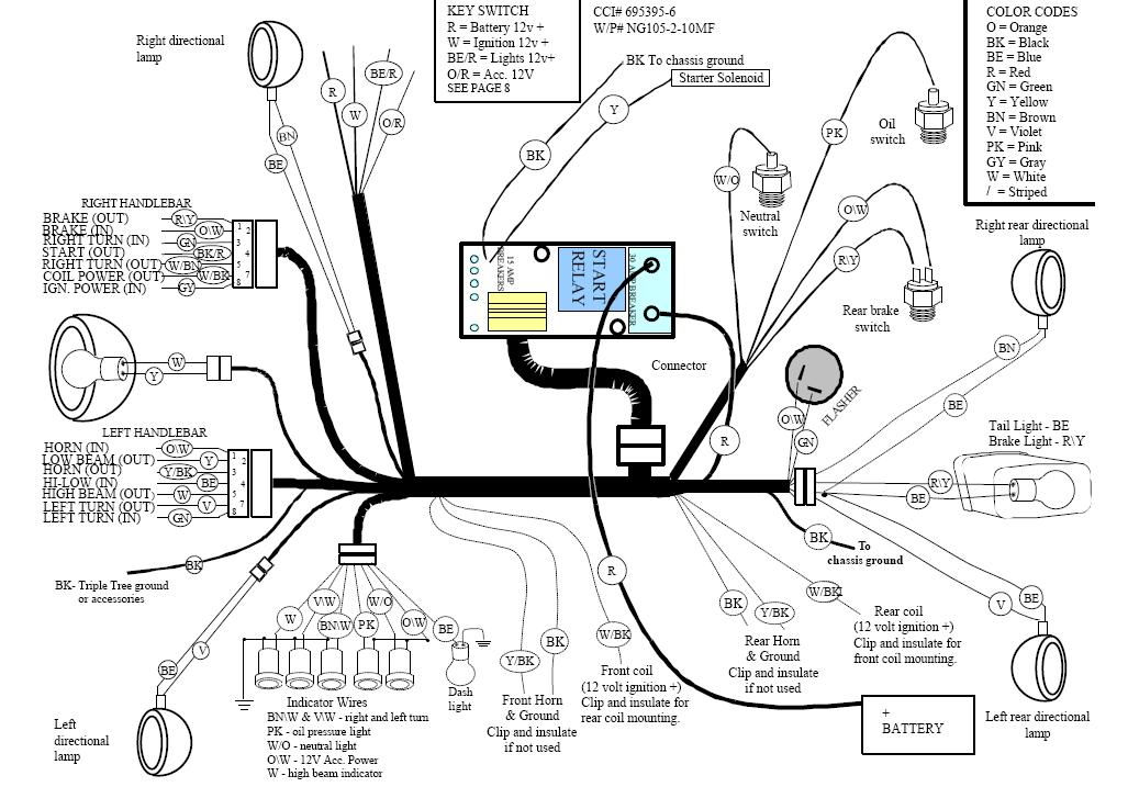 Big Dog Motorcycle Wiring Schematics Wiring Diagram