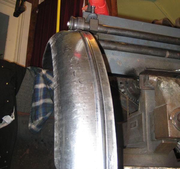 Fender Bender: A Lesson in Metal Shaping  - Club Chopper