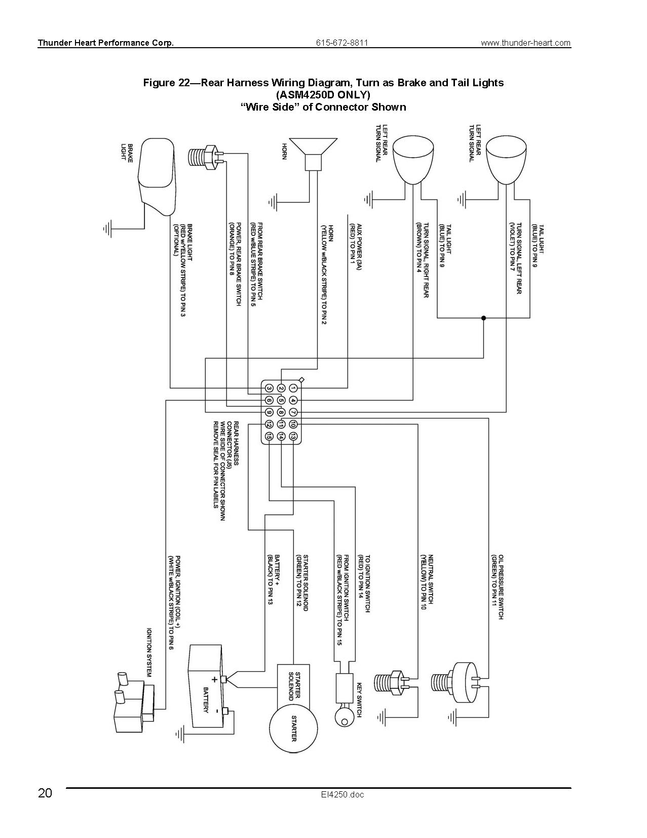thunderheart wire diagram  thunderheart  free engine image