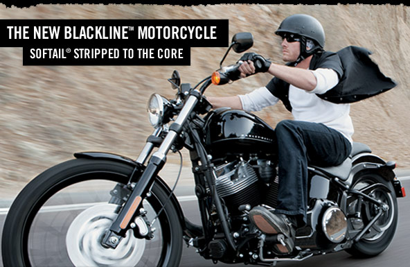 Harley Davidson Blackline. NEW Harley Davidson Blackline.