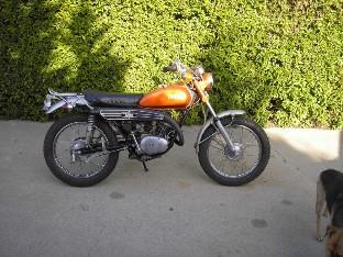 70s Yamaha Enduro