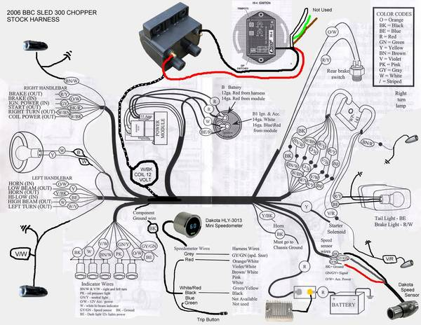wiring       diagram     Page 2  Club    Chopper    Forums